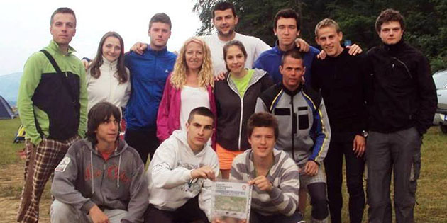 Youngsters from Bosnia and Herzegovina and Serbia